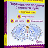 «Партнерские продажи с полного нуля». Обзор бесплатной книги Дмитрия Печеркина