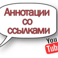 Как включить внешние ссылки в аннотациях на Youtube?