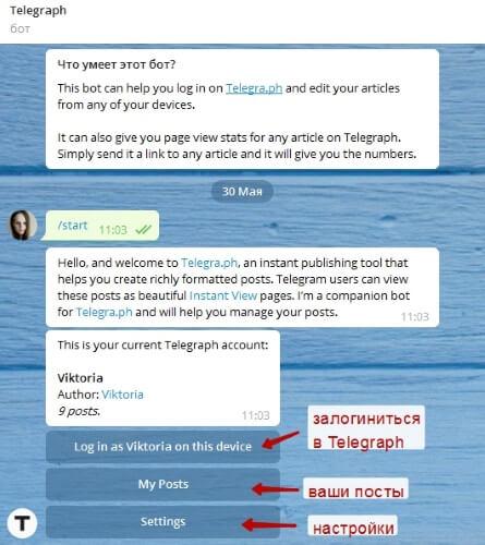 Как пользоваться блог-платформой Telegraph от Telegram?