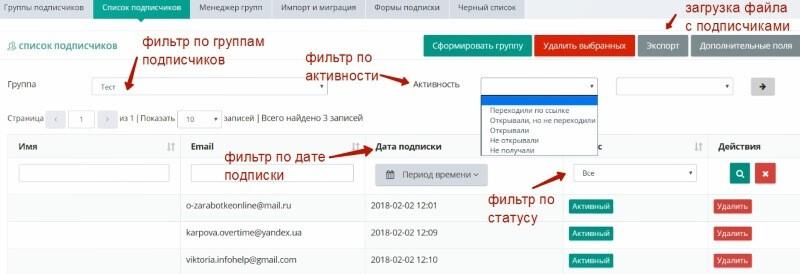 Обзор сервиса email-рассылок Estismail. Настраиваем свою рассылку