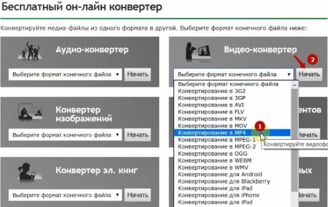 Онлайн-конвертеры файлов и документов на все случаи жизни