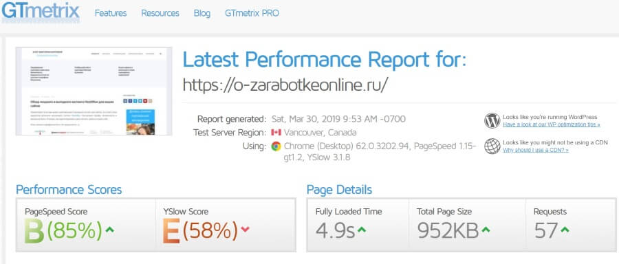 Как ускорить загрузку сайта на Wordpress? Ленивая загрузка изображений