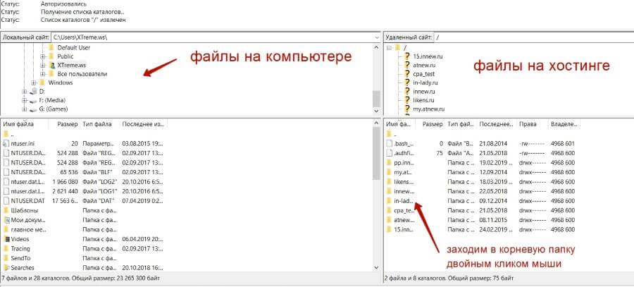 Как редактировать файлы Вордпресс-темы через хостинг?