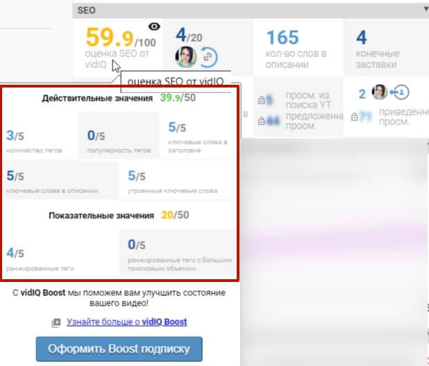 Расширение VidiQ для оптимизации и продвижения видео на Ютуб. Как установить и пользоваться?