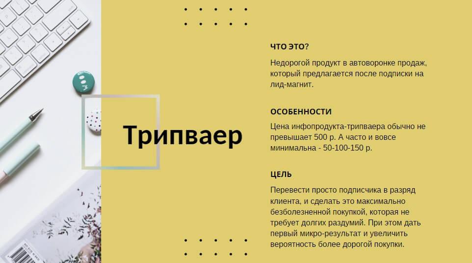 16 идей для инфопродукта-трипваера