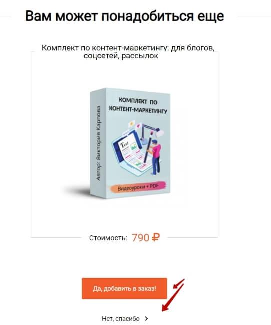 Кейс по продаже недорогого инфопродукта с допродажами в Monecle